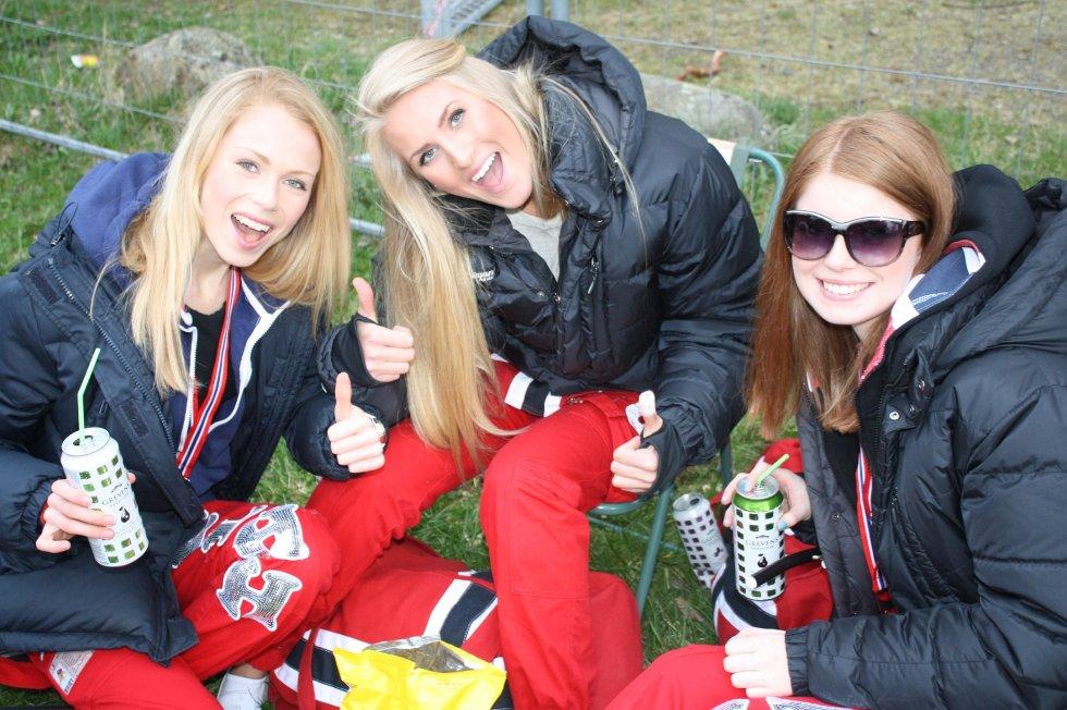 Cathrine Holseth, Charlotte Johansen og Hanne Martinsen.