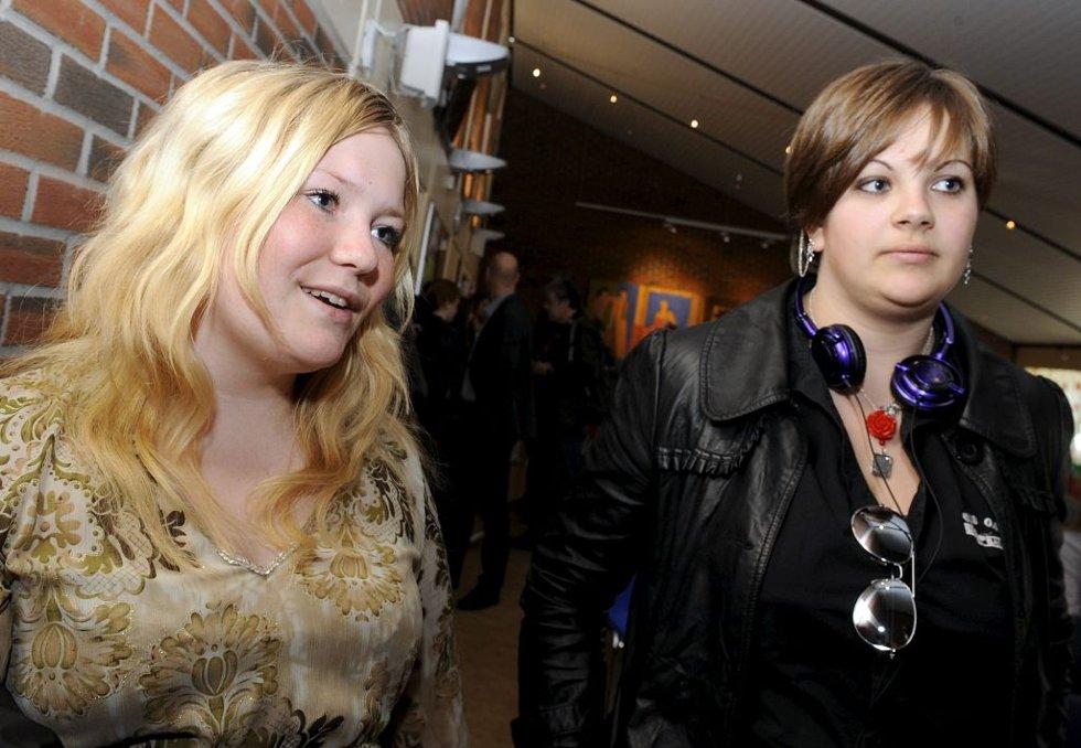 Thea Nergård og Hanne Moen.