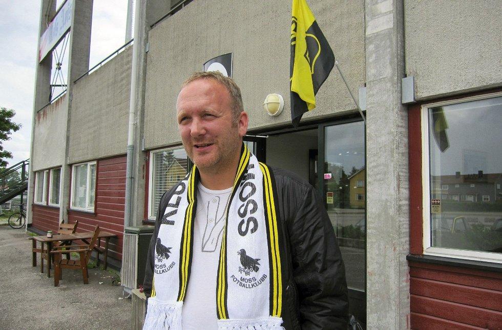 Nestleder Thomas Thorkildsen tror ikke det blir hjemmekamp på Melløs denne helgen.