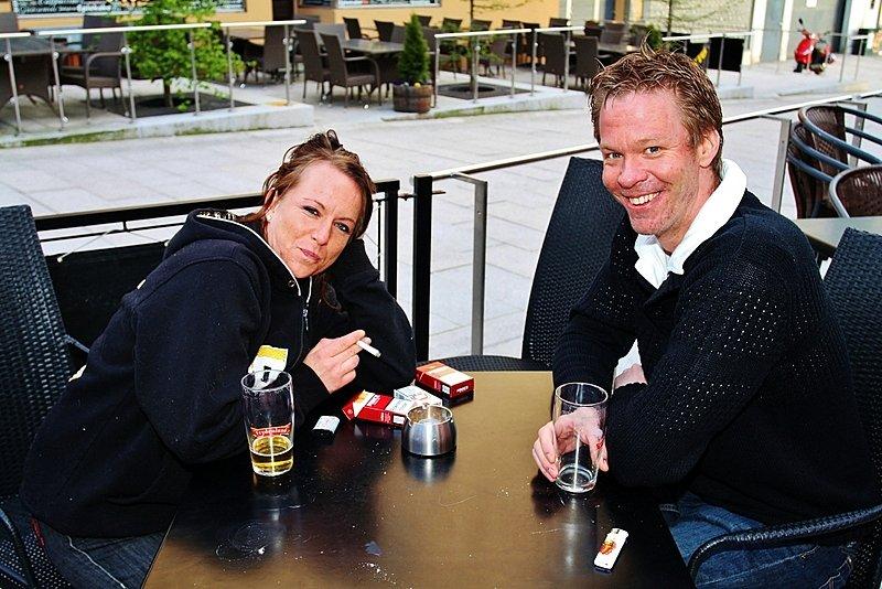 Linda og Kim (Foto: Harry Johansson)