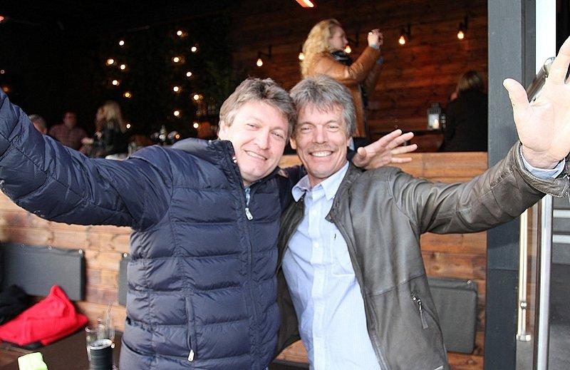 Jørn og Arnfinn (Foto: Harry Johansson)
