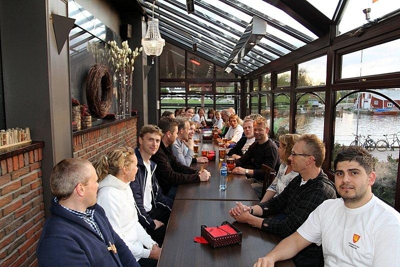 Fredrikstad kommune stafettlaget som stilte opp i Holmenkolstafetten. (Foto: Harry Johansson)