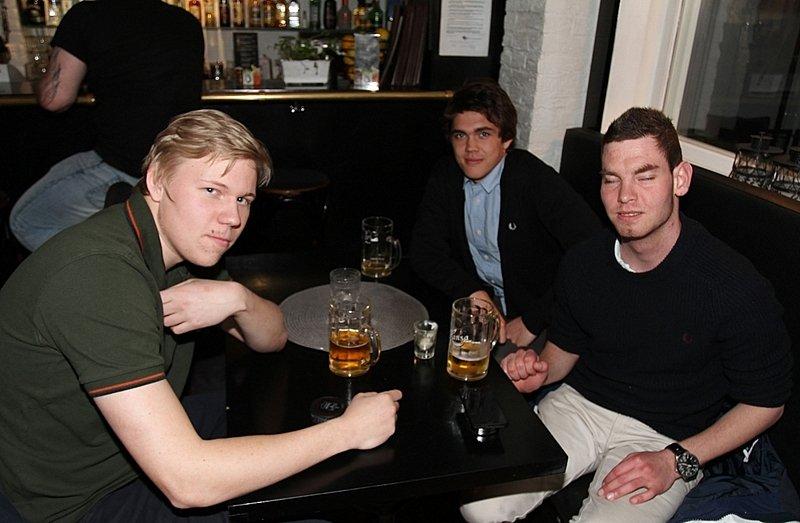 Lars,Alexsander og Jonas (Foto: Harry Johansson)