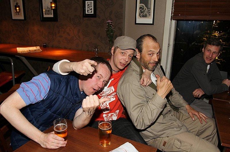 Stian,Kris og Ronny (Foto: Harry Johansson)
