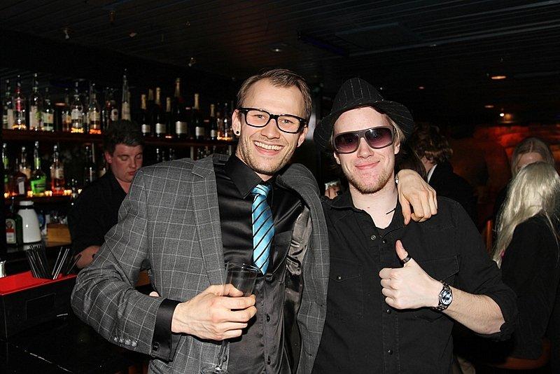 Henrik og Hugo (Foto: Harry Johansson)