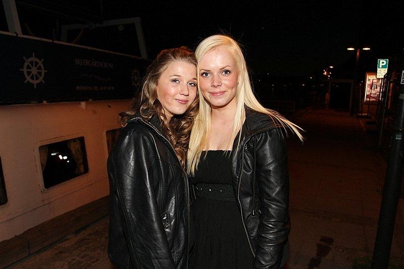 Sara og Nathalie (Foto: Harry Johansson)
