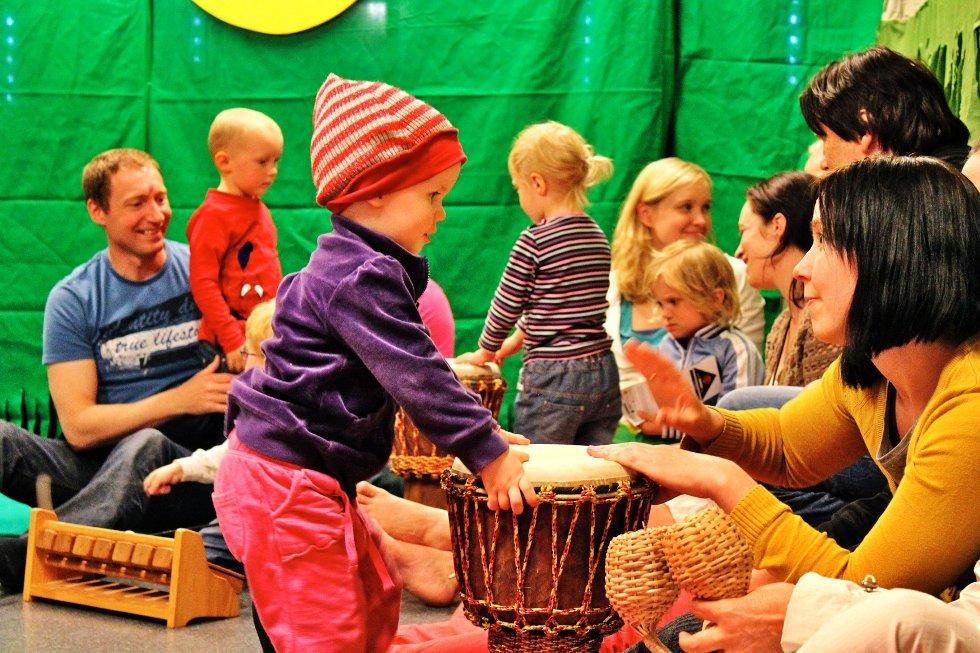 Barnas Verdensdag på Fredrikstad Kulturskole.