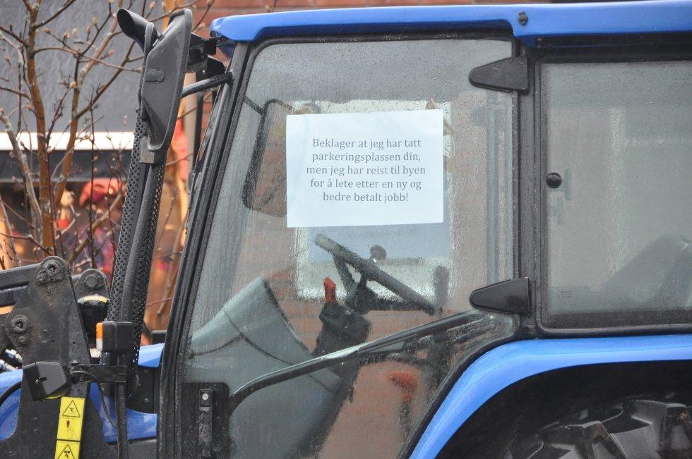 AKSJON I TRYSIL: Slik var aksjonen i Trysil.  (Foto: Ola Kolosæter)