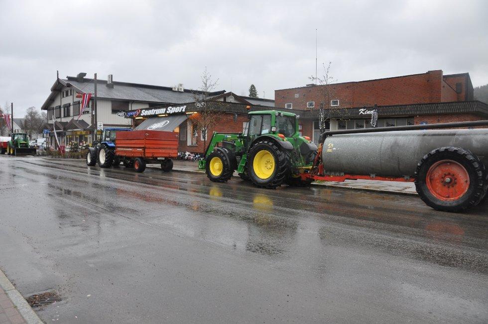 I Trysil var det traktorene som tok oppmerksomhert (Foto: Ola Kolosæter)
