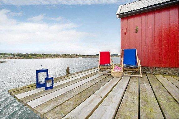 Jomfrulandsholmen til salgs. (Foto: Foto: Eiendomsmegler1)