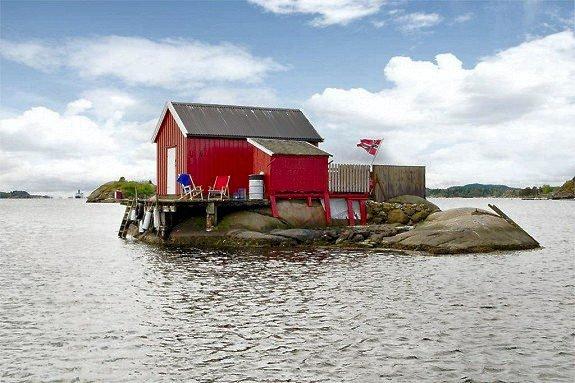 Jomfrulandsholmen til salgs.