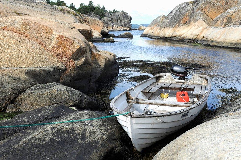 Kisteholmene er et fint sted som mål for en hverdagstur på sjøen, og en passende dose med natur, bad, sol og fiske.Alle foto: Atle Møller