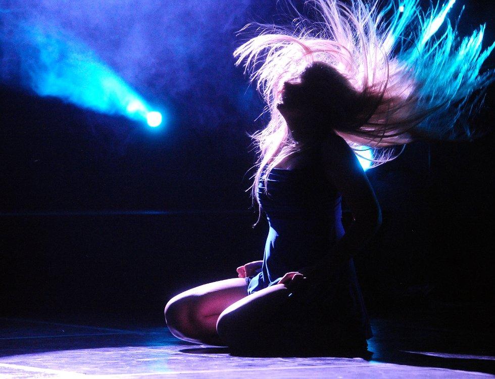 """Eline Hegbom fra Danseskolen SPOTLIGHT var med i danseforestillingen """"Hvor er Willy?"""""""