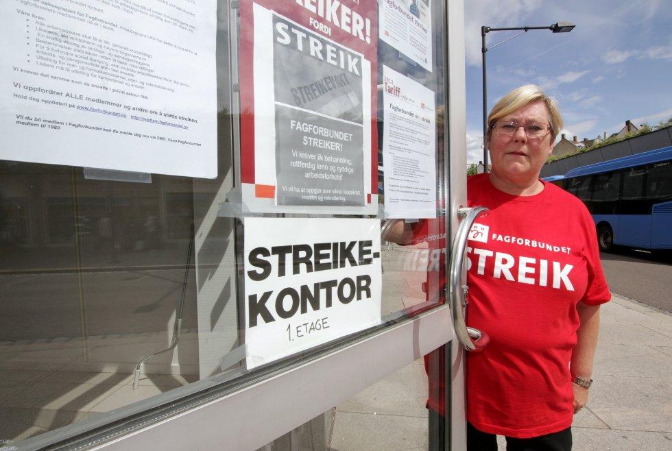 Vi tar hensyn til innbyggernes liv og helse, sier Hilde Torgersen i Fagforbundet.