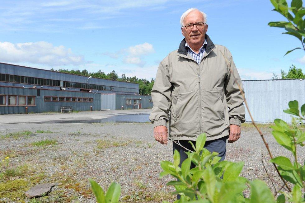 Truls Lystad går nå i gang med å omregulere sin eiendom på Heimdal fra temapark fra vikingtiden til boliger og næring. Foto: Per Langevei
