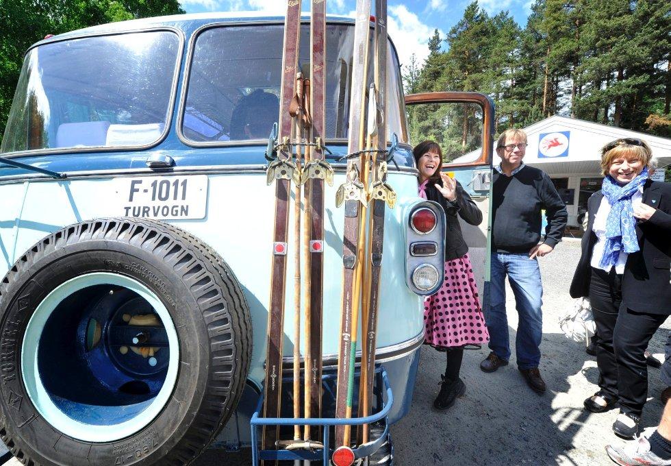 Motorhistorisksenter på Burud (Foto: Lisa Selin)