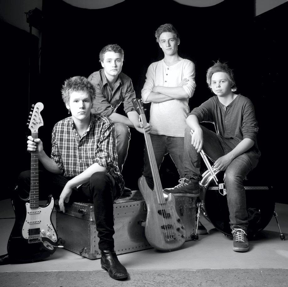 Liker du musikken til disse gutta? Snart kan du kjøpe singelen!