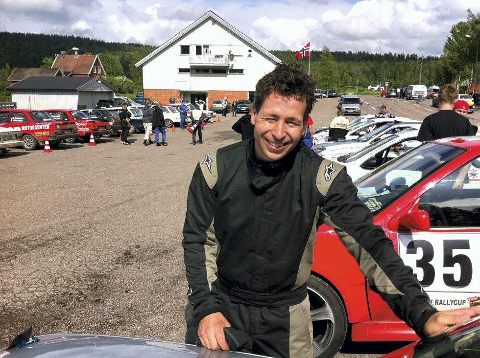 HJEMME BRA: Sivert Johansen var kartleser på veiene han kjenner ut og inn     .Foto: Sven-Erik Syrstad