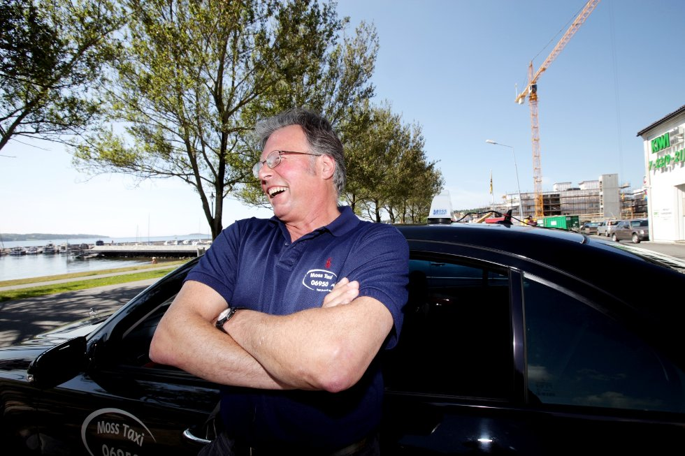Taxisjåfør Georg Christensen er én av de nominerte til Christian Frederik-prisen som deles ut under Mossegallaen. .