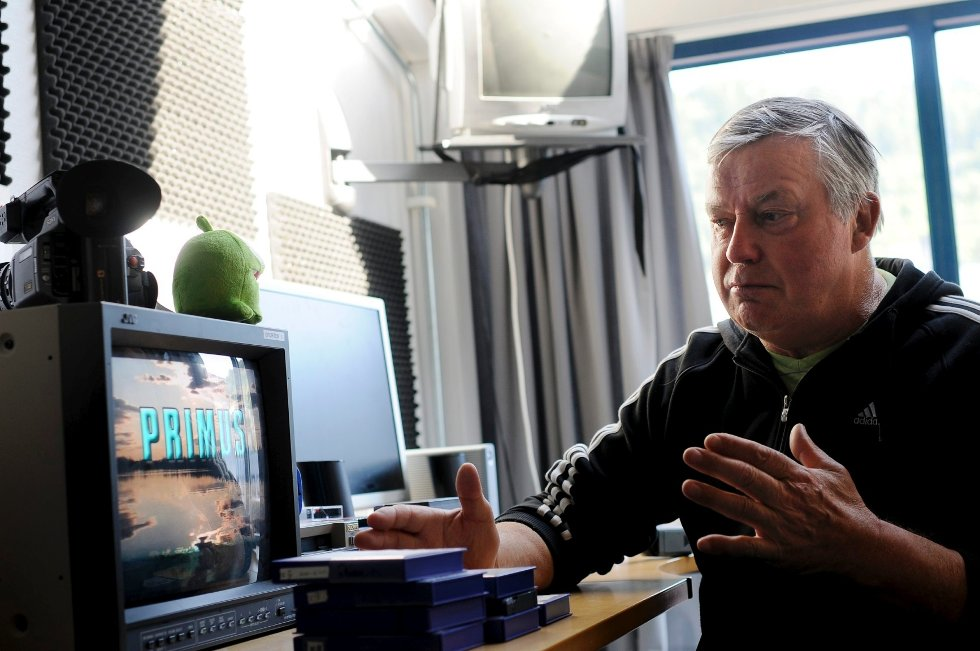 Richard Jensen gleder seg over at friluftsprogrammet digitaliseres på dt.no.