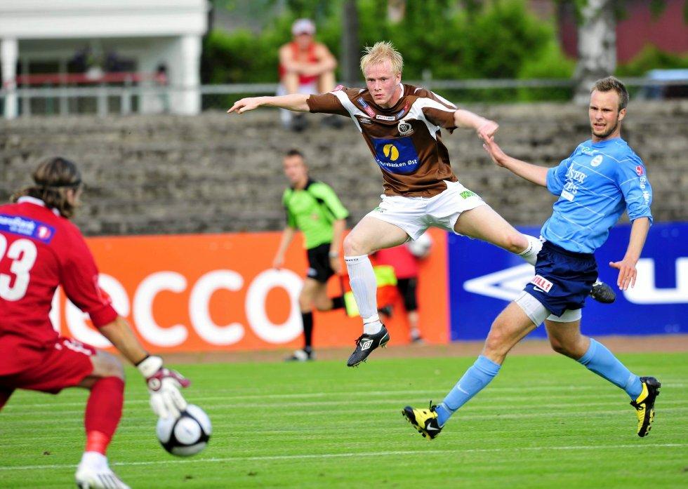 Midtgarden banket inn 23 mål på to sesonger i Mjøndalen i 2009 og 2010.