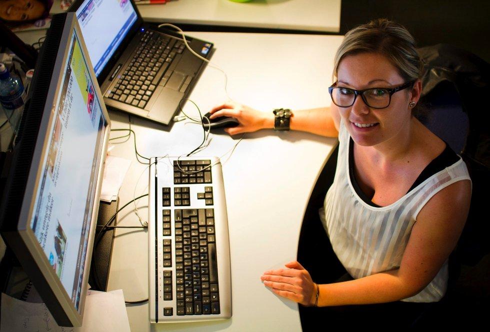 Prosjektleder Siw M. Myhre er godt fornøyd lanseringen av dt+. Nå ønsker hun seg tilbakemeldinger fra deg på det nye produktet.