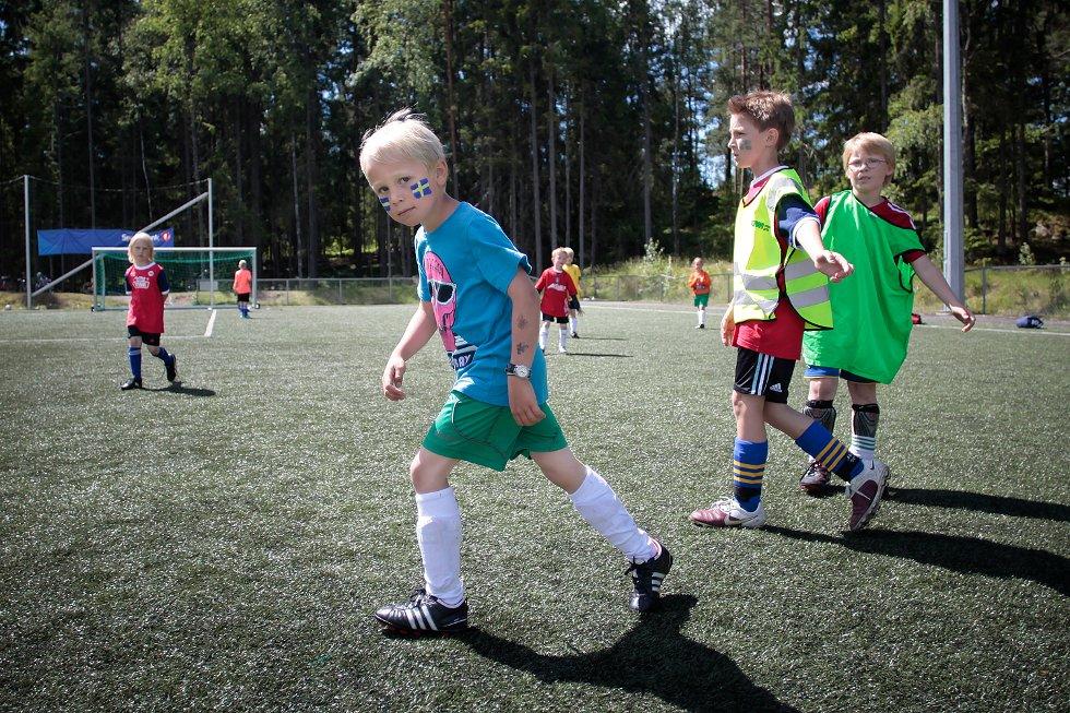 Fotballskole på Soon Arena 2012