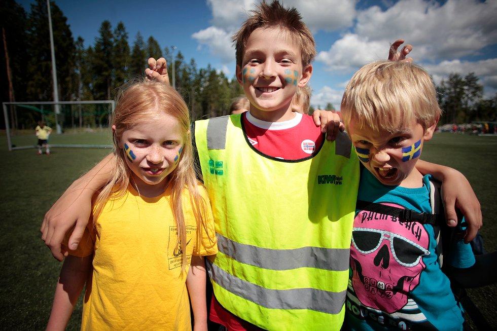 Fotballskole på Soon Arena 2012 (Foto: Nicklas Knudsen)