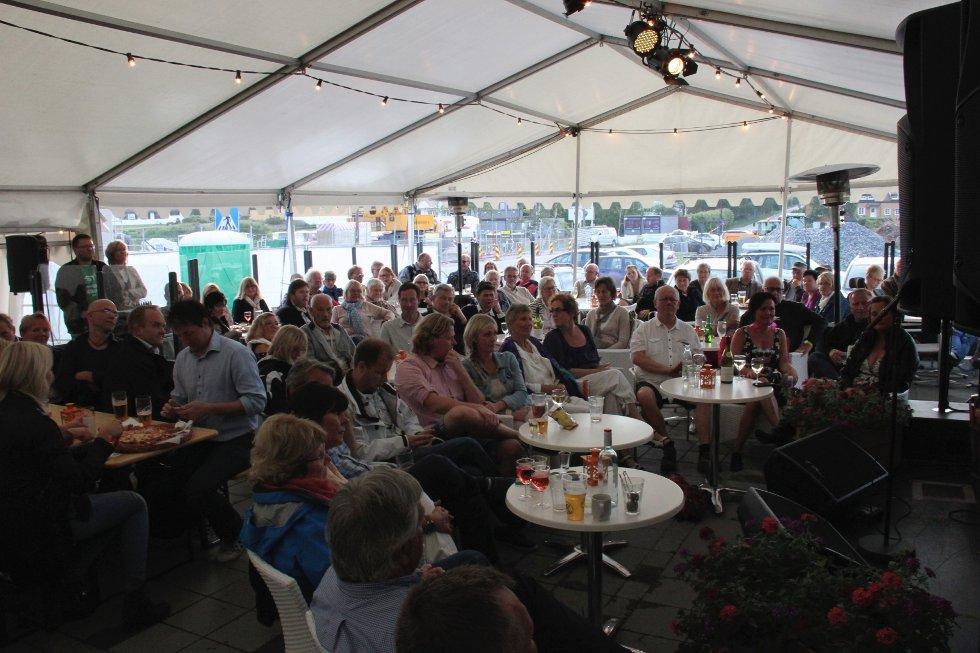 Ole Paus-konsert på Losen i Larkollen i slutten av juni. (Foto: Anders Engen Sandén)