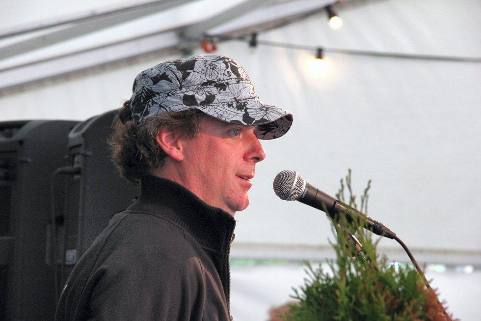 Ole Paus-konsert på Losen i Larkollen. (Foto: Anders Engen Sandén)