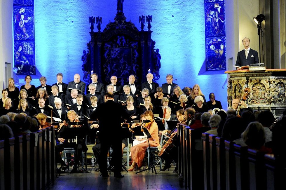 «Skapelsen» i Tønsberg domkirke fikk en sekser på terningen av Tønsbergs Blads anmelder og er en av festspilldirektørens favoritter.