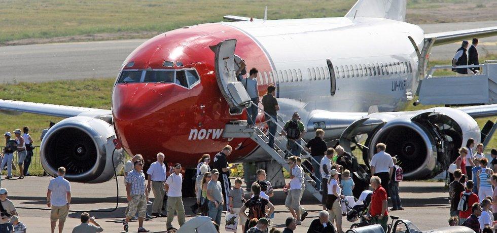 Norwegian vender tilbake til Rygge, og starter med en flyrute til Las Palmas på Gran Canaria.
