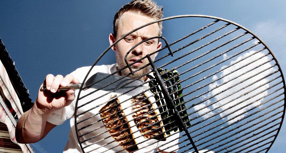 Havabboren passer perfekt som grillmat, stekt kun på skinnsiden i et par minutter.