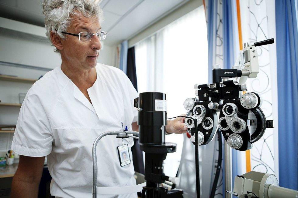STORT PRESS: Fungerende klinikksjef Terje Kleven og hans team jobber på spreng for å øke kapasiteten.Foto: Christian Roth Christensen