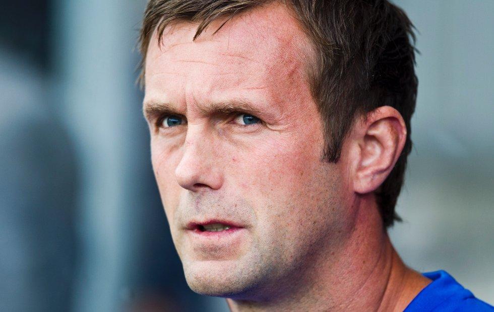 Strømsgodset trener Ronny Deila før eliteseriekampen i fotball mellom Strømsgodset og Sandnes Ulf på Marienlyst stadion i Drammen mandag kveld. Kampen endte 2-1.