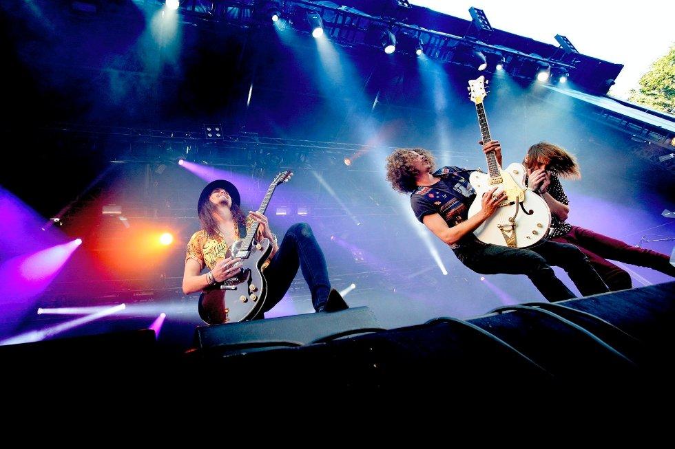 De australske ulvemødrene ble etter showet på Kongescenen betegnet som et av verdens beste festivalband, av anmelderen.
