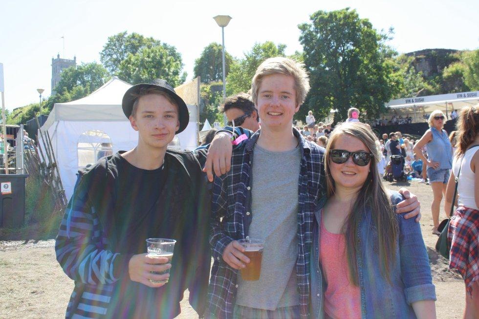 Edvard, Joachim og Christina kunne ikke har det toppers
