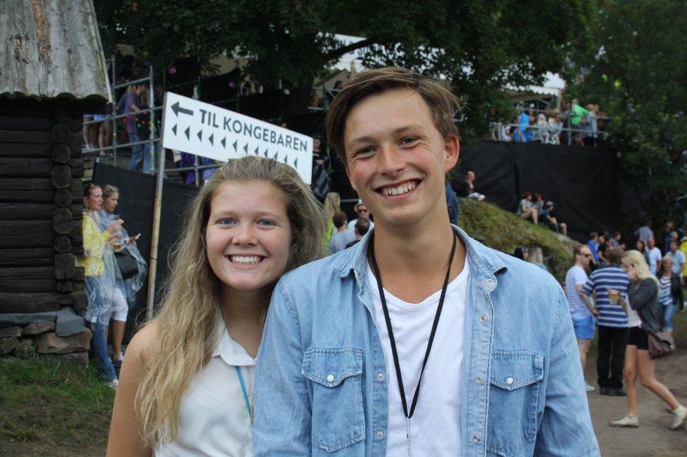 Kristin og Kjetil har en konsert å rekke...