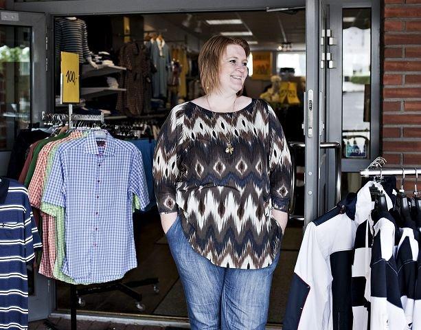 – At folk finner alt de trenger i sentrum. Variert og stort utvalg i butikkene. Hokksund er en helt spesiell by, uten kjedebutikker.