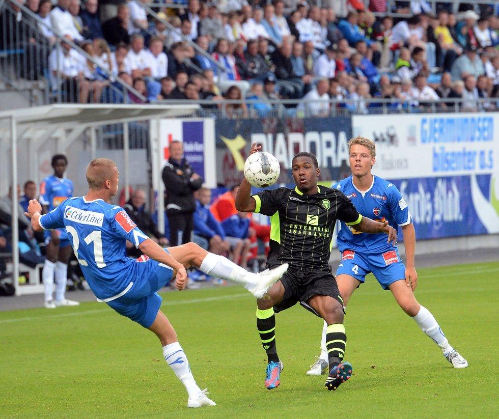 Sandefjord fotball- Leeds 1-1 på Komplett.