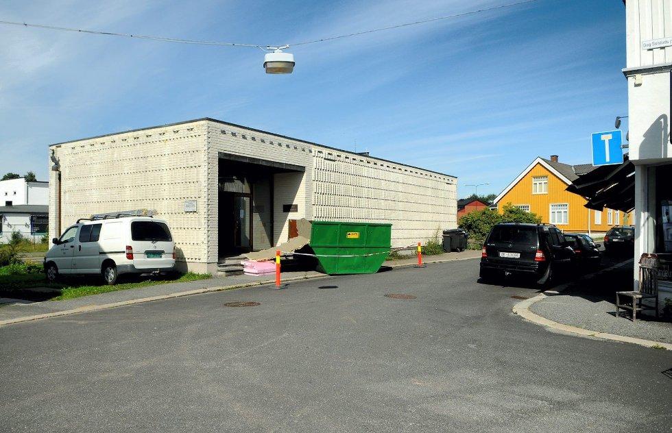 Det tidligere Sjøfartsmuseet står på Riksantikvarens gule liste. Det betyr at det ikke kan gjøres fasadeendringer på bygget. Foto: Flemming Hofmann tveitan