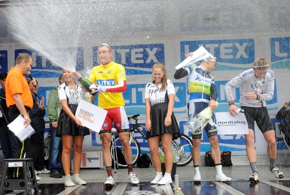 Alexander Kristoff syntes det var tungt å sykle i dag - seier ble det likevel.