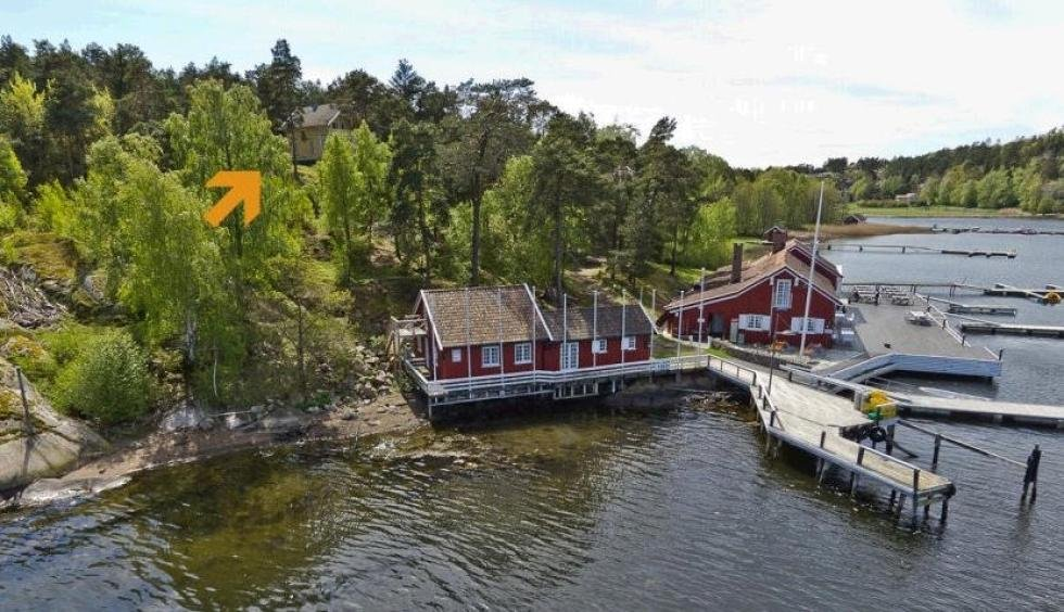 Like ved Hankø Yachtklubb er nå en prakteiendom til salgs for åtte millioner kroner.