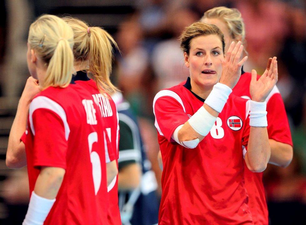 Linn-Krisitn Riegelhuth Koren har vært en av de mest stabile spillerne på et ellers så tannløst norsk mannskap i OL.