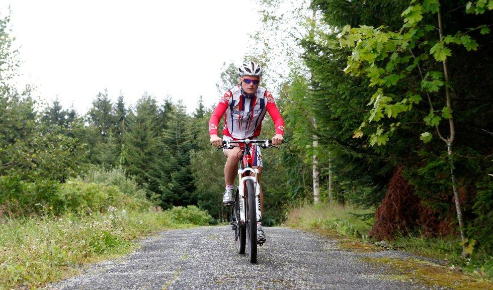 SPENT FØRSTEREISGUTT: -Jeg har hørt så mye om rittet. Nå er jeg er spent på hvordan det er å sykle det, sier Simen Svartås som sykler Birken for første gang om noen få uker.
