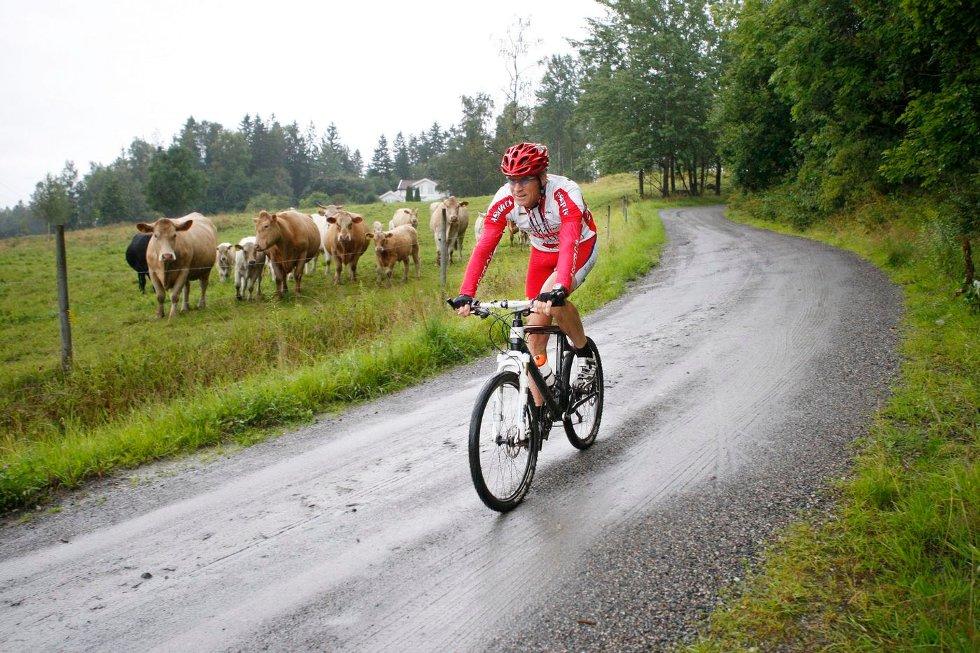 Øystein Graffer har syklet Birkebeinerrittet samtlige ganger, og starter jakten på sitt 20. merke. FOTO: ANETTE ANDRESEN
