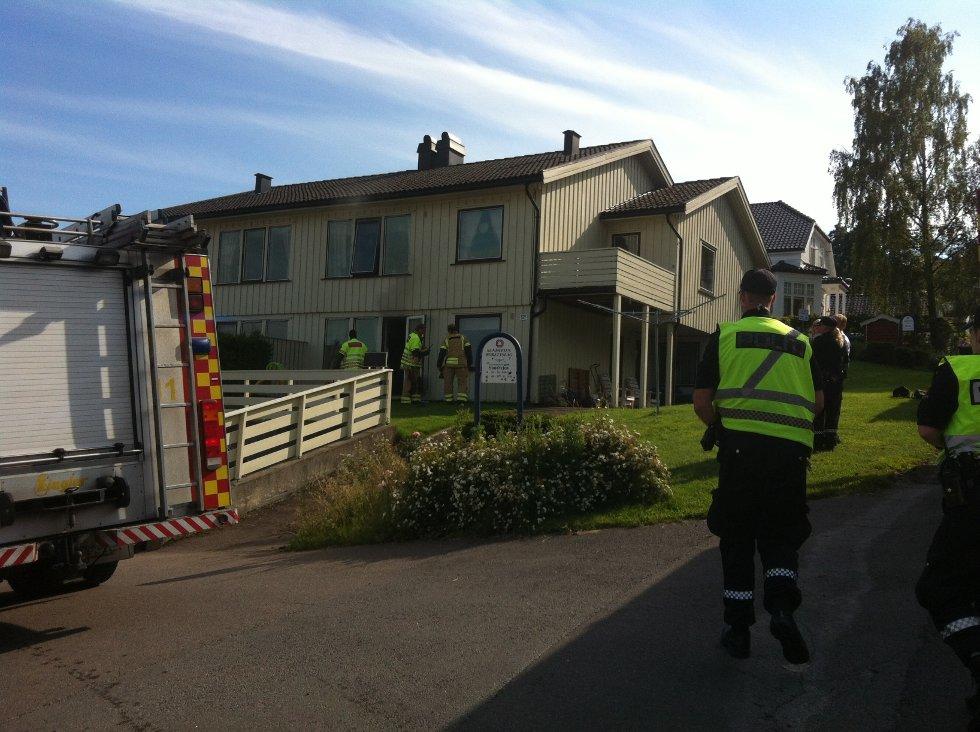 Nødetatene kom raskt fram til stedet i Sundveien 52 på Kaldnes.