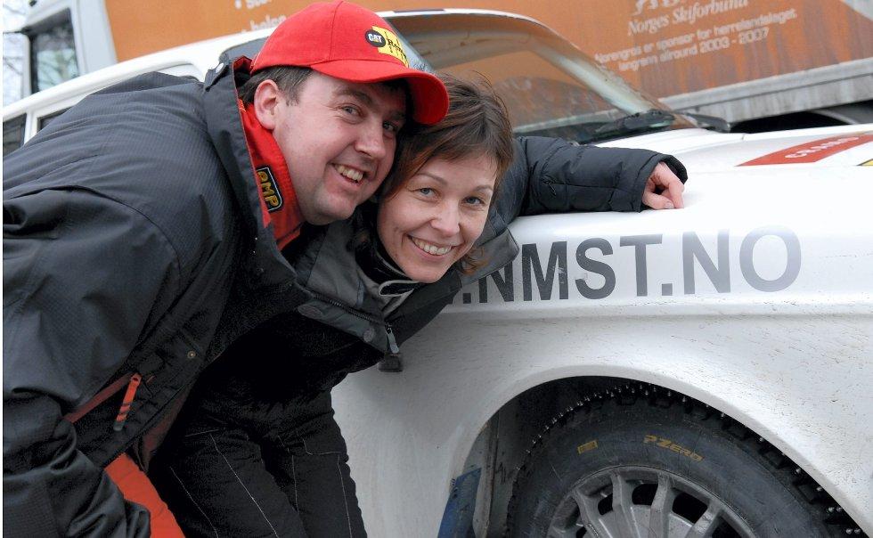 Tom Kristian Lien og Hege Turvoll Lien, Rally Hokksund