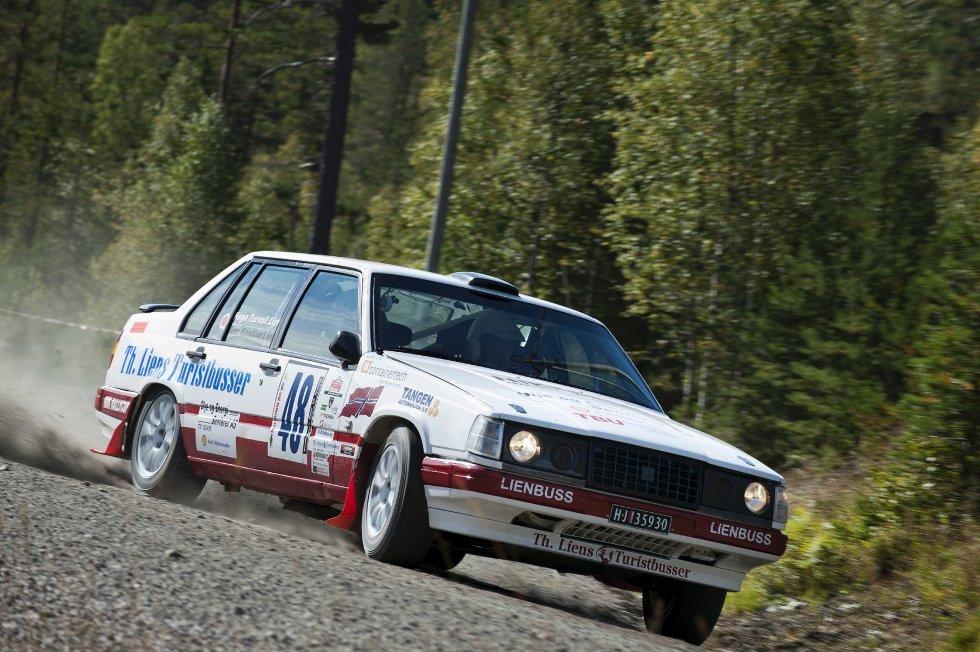 Tom Kristian Lien under Rally Telemark 2012.