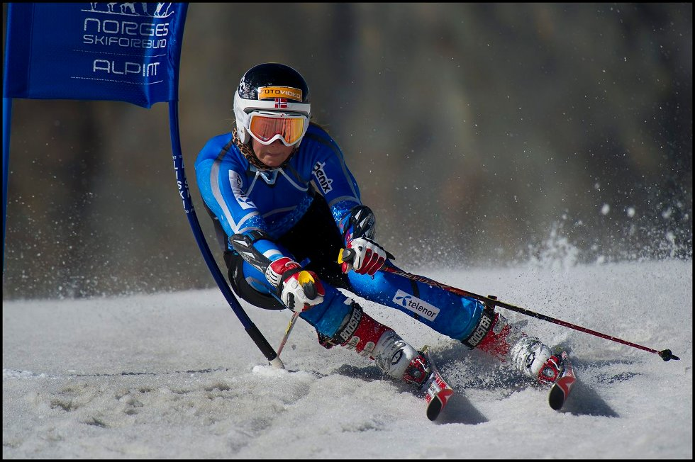 UHELDIG: Lotte Smiseth Sejersted fra Bærum var uheldig på trening i Sveits tirsdag. FOTO: PRIVAT
